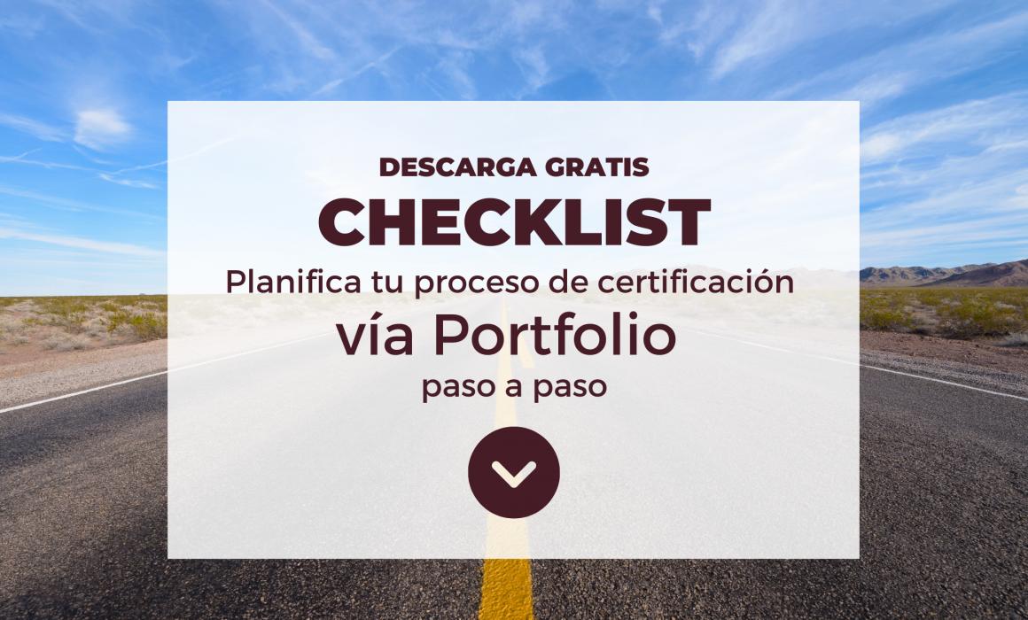 Requisitos certificación vía portfolio con icf